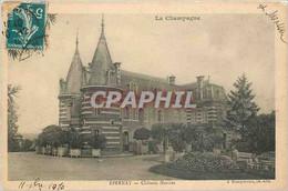 CPA La Champagne Epernay Chateau Mercier - Epernay