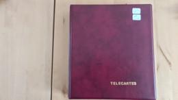 Lot De 168 Télécartes Dans Un Album Lindner Lot 2 - Collections