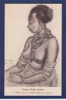 CPA Soudan Nu Féminin Femme Nue Type Ethnic Non Circulé - Sudan