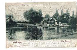 CPA Carte  Postale-Royaume Uni-Weybridge- The Thames 1904 VM31202 - Surrey