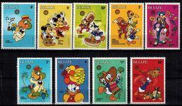 MWD-BK1-041-2 MINT PF/MNH ¤ BELIZE 1986 9w In Serie ¤ NAVIDAD 1986 - ALL DISNEY FRIENDS - Disney
