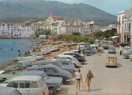 Spanien - Cadaqués - Costa Brava - Harbour - Cars - Renault R4 - Peugeot - VW Käfer - Fiat - Mini Cooper - Barcelona