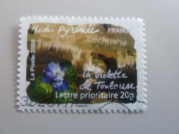 La Violette Toulouse - Midi-Pyrénées - Flore Des Régions - TVP 20g - Multicolore - Auto-adhésif Oblitéré - Année 2009 - - Oblitérés