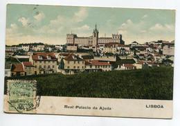 PORTUGAL LISBOA Real Palacio Da Ajuda écrite Timbrée  D10 2021 - Lisboa