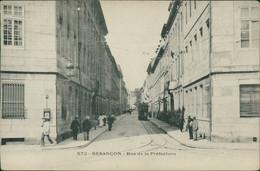 25 BESANCON / Rue De La Préfecture / CARTE ANIMEE - Besancon