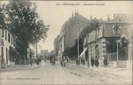 25 BESANCON / Avenue Carnot / CARTE ANIMEE - Besancon