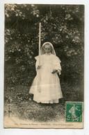 56 SARZEAU Fillette Premiere Communiante Et Son Tres  Long Cierge 1911 écrite Timbrée   D10 2021 - Sarzeau