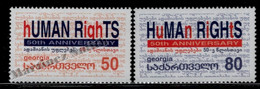 Georgie - Georgia 2000 Yvert 289-90, 50th Anniversary Human Rights - MNH - Georgia