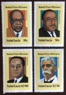 St Lucia 1980 Nobel Prize Winners MNH - St.Lucia (1979-...)