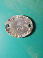 Dog Tags Anglais Ww2 - 1939-45