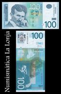 Serbia 100 Dinara 2013 Pick 57b SC UNC - Serbia