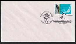 USA Cover 2002 Salt Lake Olympic Games - Freestyle Skiing Park City (G80-162) - Inverno2002: Salt Lake City