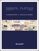 Lotes Y Colecciones.España.  **439/42s(5), 445s(10), 446s(5). 1929. 20 Cts, 25 Cts, 30 Cts, 40 Cts, 4 Pts Lila Rosa, 4 P - Verzamelingen (zonder Album)