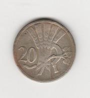 TCHECOSLOVAQUIE - 20 HALERU 1927 - Tschechoslowakei