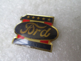 PIN'S    FORD - Ford