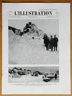 L'Illustration 4486 23/02/1929 Simplon-Orient-Express/Tarn-et-Garonne/Jeanne D'Arc/Féminisme/Bobsleigh Perquelin/SEM - L'Illustration