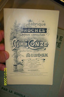 Catalogue Ruches Apiculture Cazimir Conze Auroux Lozère - 1901-1940