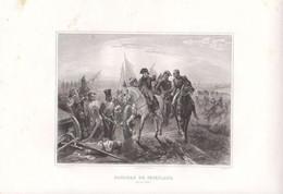 """1807   Napoléon 1er      """" La Bataille De Friedland  """" Par Horace Vernet - Prenten & Gravure"""