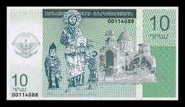 Nagorno Karabakh Armenia 10 Dram 2004 SC UNC - Nagorno Karabakh