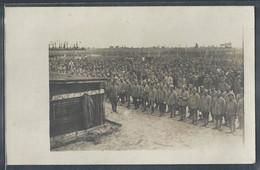 CARTE PHOTO MILITARIA - Régiment Militaire, Emplacement à Déterminer - Regiments