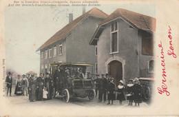 Sur La  Frontière Franco-allemande : Douane Allemande - Deutsches Zollamt - 1905 Précurseur - Otros Municipios