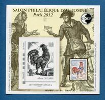 ⭐ France - Bloc Souvenir CNEP - YT N° 62 ** - Neuf Sans Charnière - 2012 ⭐ - CNEP