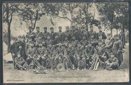 CPA MILITARIA - Le 2ème Bataillon De Chasseurs Au Camp - La Fanfare - Regiments