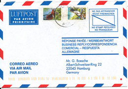 Fiji Air Mail Cover Sent To Germany 3-6-2000 BIRD Stamps - Fiji (1970-...)