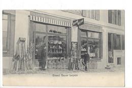28084 - Leysin Grand Bazar Leysin  Emile Ernst Luges, Skis - VD Vaud