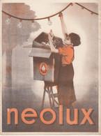 Buvard & Blotter - Ampoule NEOLUX - Molsheim (67) - Unclassified