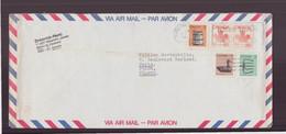 Canada, Enveloppe Du 27 Janvier 1987 De Montréal Pour Paris - Cartas
