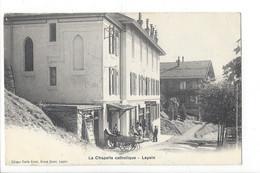 28085 - Leysin La Chapelle Catholique Et Grand Bazar - VD Vaud