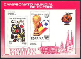Football / Soccer / Coupe Du Monde 1982:  Spanien  VignBl ** - 1982 – Espagne
