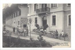 28086 - Leysin Les Frênes Clinique Du Dr Rollier Départ Pour La Promenade - VD Vaud