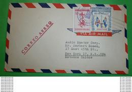DOMINIKANISCHE REPUBLIK - Brief Letter Lettre 信 Lettera Carta пи�?ьмо Brev 手紙 จดหมาย Cover Envelope (2 Foto)(33690) - Repubblica Domenicana
