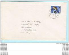 KENIA KENYA Brief Cover Lettre 23 Galago Tiere (Scan)(16022) - Kenya (1963-...)