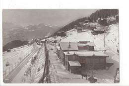 28089 - Leysin La Gare Cheval Tirant Un Traîneau - VD Vaud
