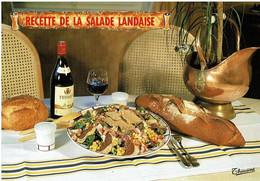 Titre Sur Parchemin : Recette De La Salade Landaise - éditions Thouand - Neuve - Recipes (cooking)