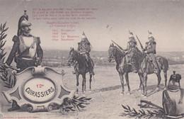 12e Cuirassiers - Regiments