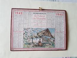 CALENDRIER  OLLER  1942   PRITEMPS  NORMAND  DEPARTEMENT 10 - Big : 1941-60