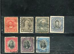 Chili 1912-15 Yt 101-107 - Chile