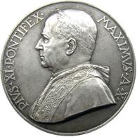 MEDAGLIA - Pio XI Anno X Di Pontificato 1931 - Stazione Radio Vaticana - Annuale - AG - Coniate 2000 - SPL - Colpetti - Royal/Of Nobility