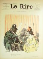 """REVUE """"LE RIRE""""-1904- 87-POULBOT BAC BURRET JEANNIOT GOTTLOB NOB VILLEMOT - 1900 - 1949"""