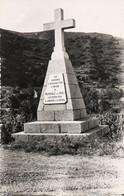 PONTENUOVO MONUMENT PASCAL PAOLI BELLE CARTE PHOTO PAR A TOMASI AJACCIO - Altri Comuni