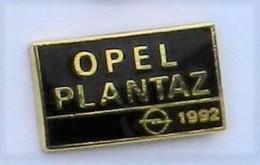 L53 Pin's Car Voiture Opel Béthune Nord Pas De Calais OPEL PLANTAZ 1992 Qualité EGF Achat Immédiat - Opel