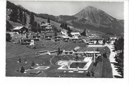 28099 - Leysin La Piscine Et Le Mont D'Or Vue Aérienne - VD Vaud