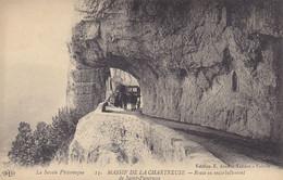38 - (Isère) - 13 Massif De La Chartreuse - Route En Encorbellement De Saint-Pancrasse - Attelage - Ohne Zuordnung