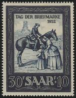 Saarland 316 Tag Der Briefmarke / IMOSA 1952, Postfrisch ** - Unclassified