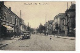 CPA   NANGIS    Rue De La Gare - Nangis