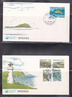 FDC Des Iles Féroé, Ile De Mykines, Phare (ref L A681) - Isole Faroer